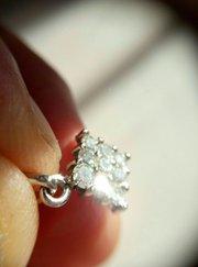 Кулон с бриллиантами 0. 58 карата