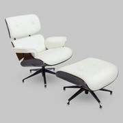 Львів Крісло шкіряне з оттоманом Eames Lounge Chair Великий асортімент