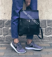 Сумка рюкзак женская из натуральной кожи