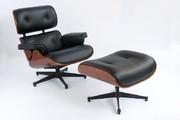 Купити Крісло Eames Lounge Chair Львів Крісло шкіряне з оттоманом Eame