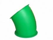 Пластиковые комплектующие для детских площадок горка труба поворот 30