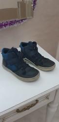 Ботинки демисезонные для мальчика кожаные,  размер 35,  марки ЕССО