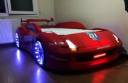Машина - кровать  Хtrem full   M7 (красный)
