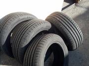 Продам комплект резины б/у лето Goodyear 205/55 R16 в Одессе