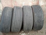 Продам комплект шин б/у лето 235/55 R19 Dunlop в Одессе