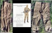 Южноафриканская военная форма (нутрия) времен апартеида,  1980-е