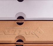 Купить коробки для под пиццы бурые белые целлюлозные