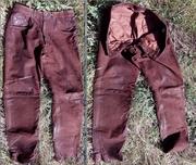 Кожаные немецкие байкерские штаны