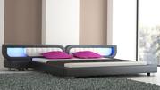 Купить дизайнерскую кровать мягкое изголовье Мягкая дизайнерская крова