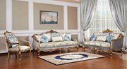 Киев Комплект мебели стиль Барокко 3+1+1 диван два кресла цвет слонова
