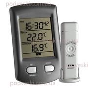 Электронные термометры,  оконные термогигрометры,  домашние метеостанции