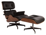Львов Дизайнерское кресло Релакс с оттоманкой реплика кресла Eames Lou