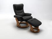 Спинка кресла Relax имеет анатомически правильную форму,  как в професс