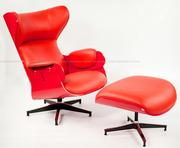 Львов Дизайнерское кресло Релакс с оттоманкой реплика Кресла,  шезлонги