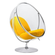 Прозрачное кресло бабл на подставке. Запорожье Кресло bubble на подста