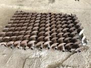 Шнеки буровые диаметром 135  новые