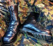 Швейцарские военные ботинки (берцы) KS90,  настоящие
