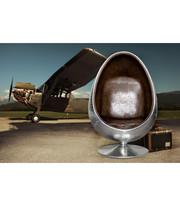 Львов Ovalia Aviator Великолепное дизайнерское кресло в стиле стимпанк