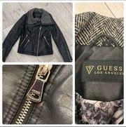 Продам кожаную куртку GUESS ОРИГИНАЛ