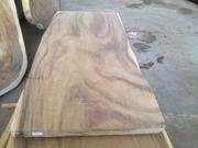Стол из единого слэба дерева Суар с острова Бали Дизайнерский стол из