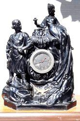 Часы каминные Хозяйка медной горы и Данила-мастер.