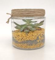 Флорариум mini,  желтый